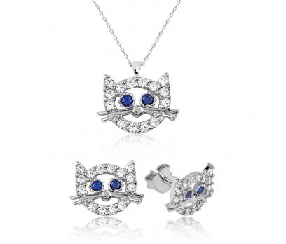 Gümüş Hello Kitty Çocuk Set