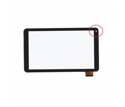 HK10DR2496-V02 Dokunmatik Tablet Camı Siyah Dokunmatik