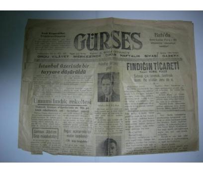 D&K-GÜRSES GAZETESİ 11 AĞUSTOS 1944 CUMA.