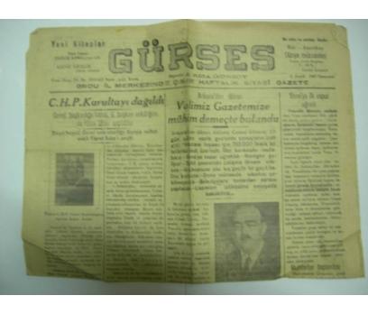 D&K-GÜRSES GAZETESİ 6 ARALIK 1947 CUMARTESİ