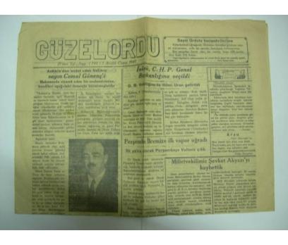 D&K-GÜZELORDU GAZETESİ. 5 ARALIK 1947 CUMA