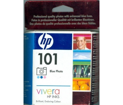 HP 101 BLUE PHOTOVIVERA C9365AE YAZICI BASKI KARTU