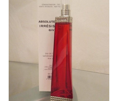 TESTER KUTULU GİVENCHY İRRESİSTİBL ABSOLUETLY EDP