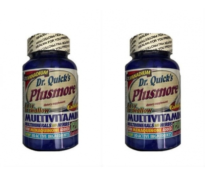 Dr Quicks Plusmore Multi Vitamin Mineral 120 Tab 2