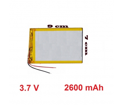 Powerway DRN-X600 Batarya Pil Tablet Bataryası Hızlı Kargo