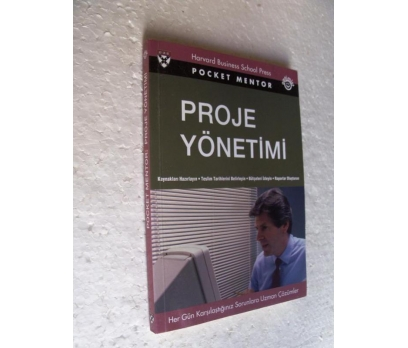 PROJE YÖNETİMİ Pocket Mentor OPTİMİST YAYINLARI