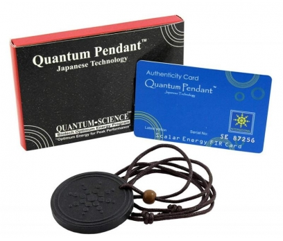 Quantum Kuantum Bionerji Şans Eneji Kolyesi