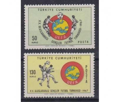 1967- FUTBOL TAM SERİ PULLAR