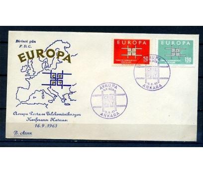 CUMH.FDC  1963 EUROPA CEPT B.ARSEN (18-21)