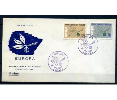CUMH.FDC 1965 EUROPA CEPT B.ARSEN (18-21)