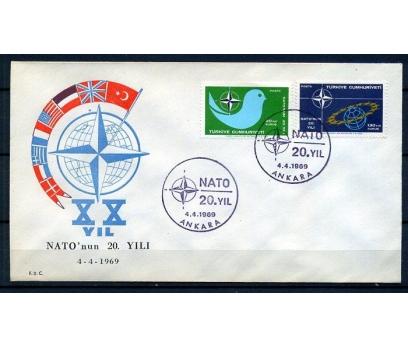 CUMH.FDC  1969 NATO'NUN 20.YILI  SÜPER(18-21)