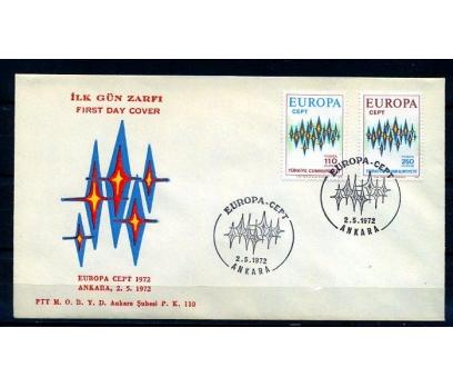CUMH.FDC 1972 EUROPA CEPT (18-21)