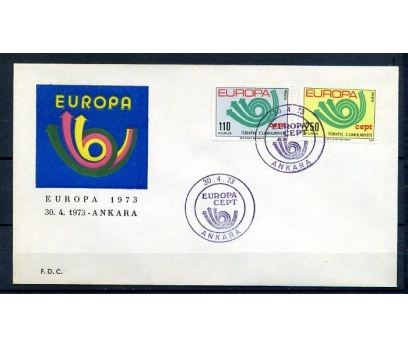 CUMH.FDC  1973 EUROPA CEPT SÜPER(18-21)