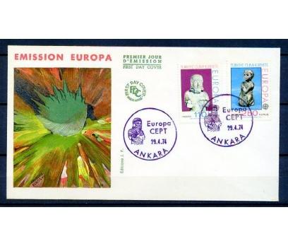 CUMH.FDC 1974 EUROPA CEPT SÜPER(18-21)