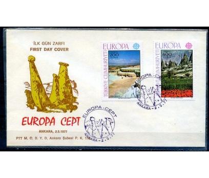CUMH.FDC 1977 EUROPA CEPT SÜPER (18-21)