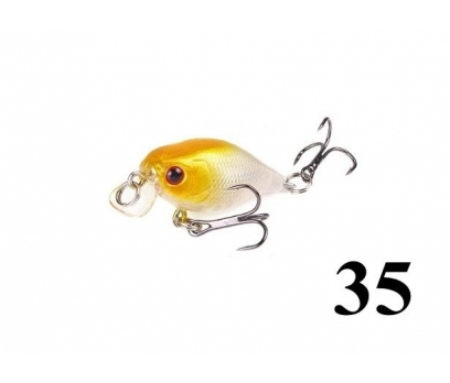 35 Kasna balık avlarına 4.5 cm Crankbait yem