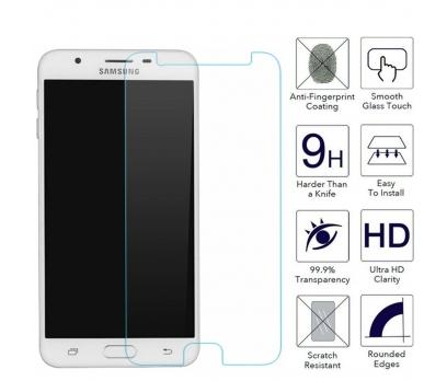 Samsung Galaxy J5 Prime SM-G570F Kırılmaz Ekran Koruyucusu Şeffaf Gerçek Temperli Cam