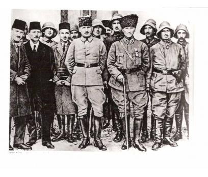 D&K-ATATÜRK-KARAÇAM CEPHESİNDE 17 HAZİRAN 1922