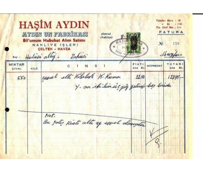 D&K--HAŞİM UN FABRİKASI-HAVZA SAMSUN