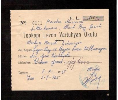D&K-TOPKAPI LEVON VARTUHYAN  OKULU