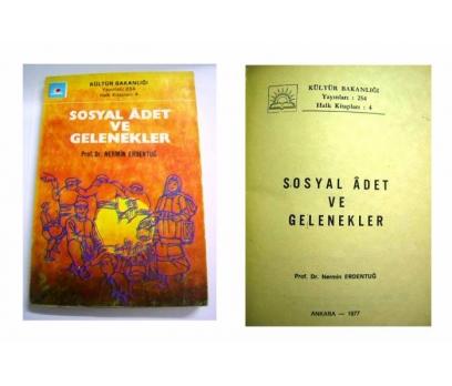 D&K--SOSYAL ADET VE GELENEKLER-1977 ANKARA