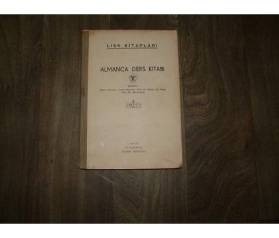ALMANCA DERS KİTABI V MAARİF MATBAASI - 1942