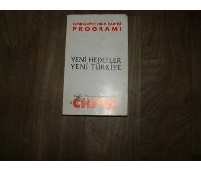 CUMHURİYET HALK PARTİSİ PROGRAMI DENİZ BAYKAL