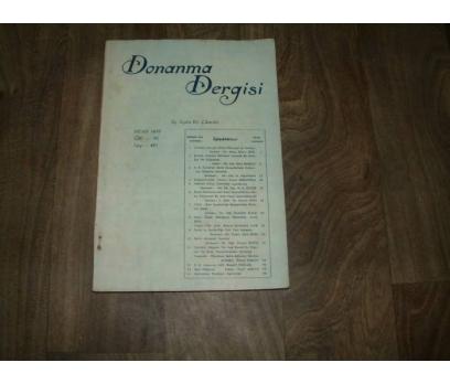 DONANMA DERGİSİ CİLT - 70  NİSA - 1958 SAYI -421