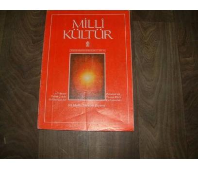 MİLLİ KÜLTÜR  S. 84 - 1991 ALİ SUAVİ VELED ÇELEB