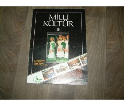 MİLLİ KÜLTÜR  S. 86- 1991 1. ULUSLARARASI TÜRK