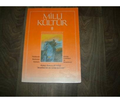 MİLLİ KÜLTÜR  S. 87 - 1991 TÜRKLERDE BESLENME