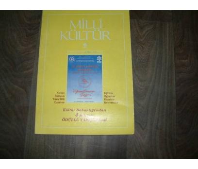 MİLLİ KÜLTÜR  S. 88 - 1991 ÇEVRE İLETİŞİM TÜRK