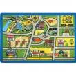 Confetti 100x150 Traffic Anaokulu ve Çocuk Odası Oyun Halısı Trafik