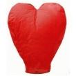 Sevgiliye Özel Kalpli Dilek Feneri Balonu Büyük Bo