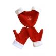 Polar Sevgili Eldiveni Üçlü Takım-Kırmızı