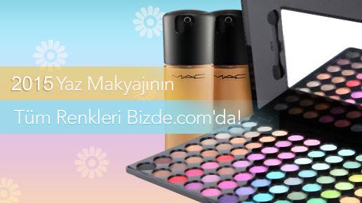 2015 yaz makyajının tüm renkleri bizde.com'da!