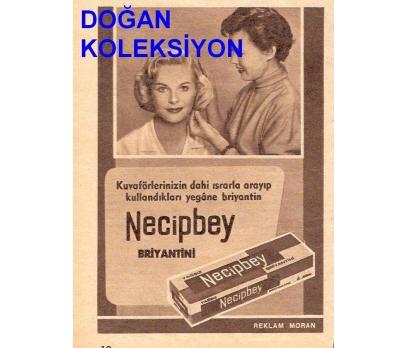 D&K--ESKİ NECİPBEY BRİYANTİNLERİ REKLAMI. 1