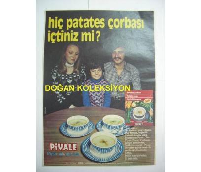 D&K-ESKİ PİYALE PATATES ÇORBASAI REKLAMI.