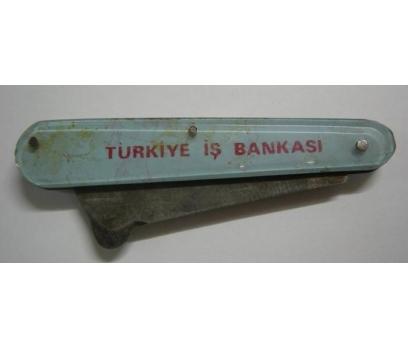 D&K -TÜRKİYE İŞ BANKASI YAZILI ESKİ BIÇAK..