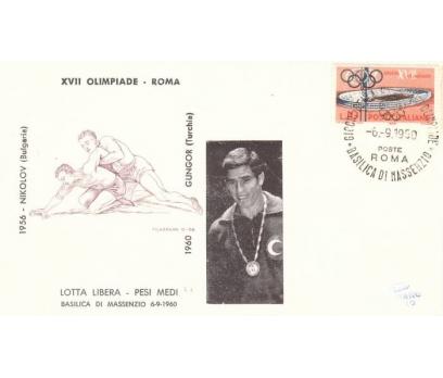 C-ÖD 1960 ROMA O.ŞAMP. GÜREŞÇİMİZ H.GÜNGÖR(290415)