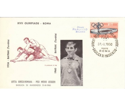 C-ÖD 1960 ROMA O.ŞAMP.GÜREŞÇİMİZ M.BAYRAK(290415)