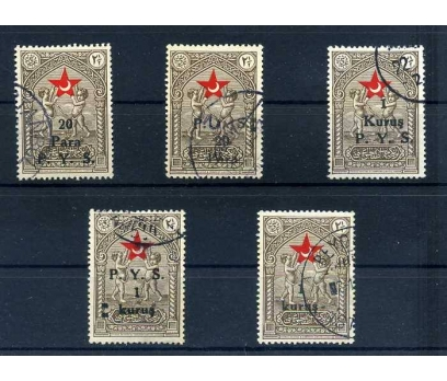 ÇOCUK ESİRGEME DAMGALI 1938-39 TAM SERİ