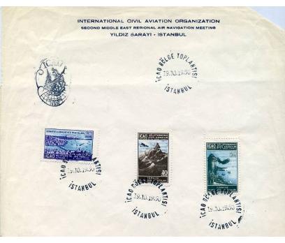 CUMHURİYET 19.10.1950 ICAO ÖZEL ANTETLİ KAĞ.3.Gün