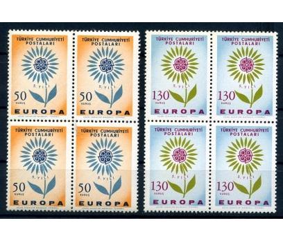 CUMHURİYET ** DBL 1964 EUROPA CEPT SÜPER