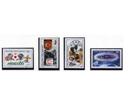 KKTC ** 1986  FUTBOL & FAO Vd. TAM SERİ