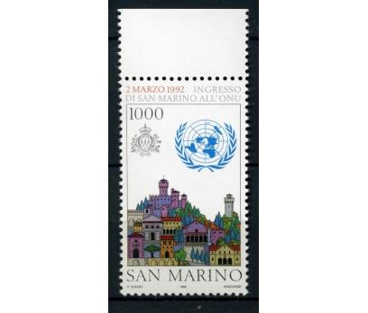 SAN MARİNO ** 1992 MİMARİ TEK PUL 1000 LİRET(A-1)