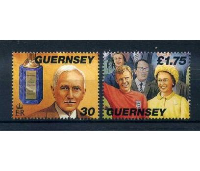 GUERNSEY  ** 1998  FUTBOL &KRALİÇE TAM SERİ (A-1)