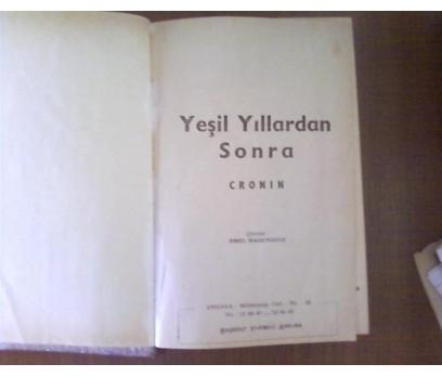 YEŞİL YILLARDAN SONRA A.J. CRONİN