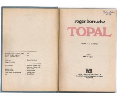 TOPAL -ROGER BORNICHE