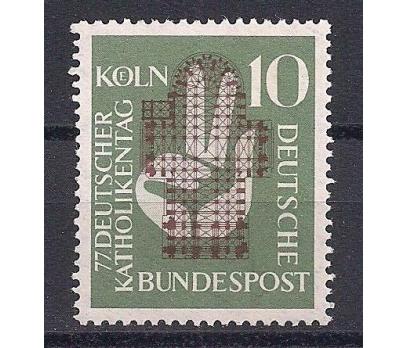 1956 Almanya Katolik Günü Damgasız**